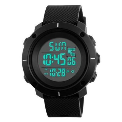 Ceas Barbatesc SKMEI CS876, curea silicon, digital watch, functie cronometru, alarma foto
