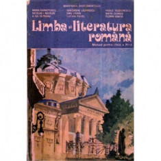Limba si literatura romana - Manual pentru clasa a XI-a