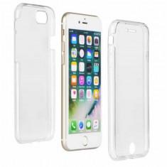 Husa 360 Grade Full Cover Silicon iPhone 6S Plus iPhone 6 Plus Transparenta