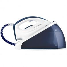 Statie de calcat Philips SpeedCare GC6630/20, SteamGlide Ceramic, 2400 W, 1.2 l, Alb/Albastru