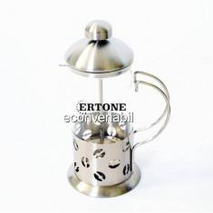 Infuzor ceai si filtru cafea manual 350ml Ertone HBH126