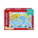 Puzzle Travel - Harta Lumii 100 Piese