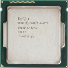 Procesor Intel Core i5-4670 3.40GHz, 6MB Cache, Socket 1150