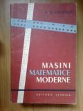 d9 MASINI MATEMATICE MODERNE - A.D. SMIRNOV