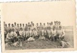 Fotografie soldati romani cu mitraliere perioada regalista