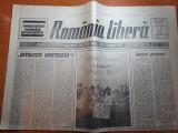 """Ziarul romania libera 27 martie 1990-articolul """" revolutia confiscata """""""