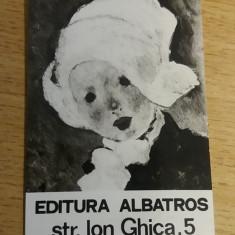 CCO 1972 - CALENDAR DE COLECTIE - TEMATICA RECLAMA - EDITURA ALBATROS - 1972