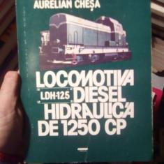 Locomotiva diesel hidraulica de 1250 cp – Ilie Dumitru