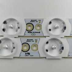 SET Complet Barete LED A668WJ-9X Din Sharp LC-52LE705S