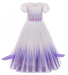 sosiri noi îmbrăcăminte sport de performanță mărci recunoscute Rochie/rochita Elsa Frozen 2, 4-5 ani, 5-6 ani, Din imagine | Okazii.ro
