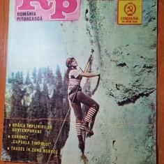 romania pitoreasca octombrie 1984-articol carei,braila,baile tusnad,jud. braila