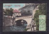 HERCULANE  BAILE  HERCULANE   PODUL  PESTE  CERNA  CIRCULATA  1911