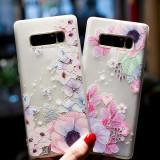Husa de telefon cu fluture si floare pentru Samsungj5 2016/j7 2016/j5 2017/j7 2017
