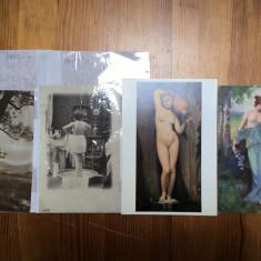 Lot 19 cărți poștale erotice/nuduri