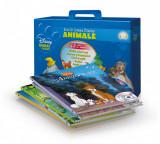 Eroi in lumea Disney. Animale (6 cărți + 6 CD audio). Cutie cadou