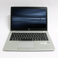 Laptop HP EliteBook Folio 9470m, Intel Core i5 Gen 3 3427U 1.8 GHz, 16 GB DDR3, 250 GB HDD SATA, Wi-Fi, 3G, Bluetooth, Webcam, Tastatura Iluminata,