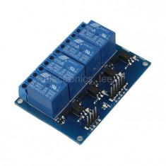 modul cu 4 Relee canale 12v 5v 220v 10A arduino avr stm pic