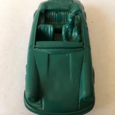 Masinuta veche vintage Vinyl-Line West Germany, Porche 911 decapotabila verde
