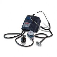 Tensiometru Medical Manual cu Aneroid si Stetoscop Mac-Check