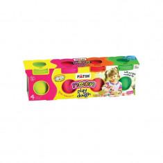 Plastilina usoara neon modeling dough 520 gr FATIH