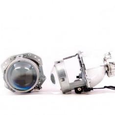 Lupe Bixenon 3″ tip Hella EvoX-R E55 H7 pentru becuri H7 cu xenon, LED sau halogen PREMIUM