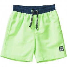 Sort pentru baie Bench baieti, verde neon, marimea 128 cm, 7-8 ani