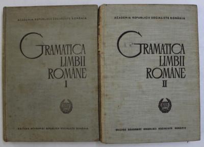 GRAMATICA LIMBII ROMANE,VOL.I-II,BUC.1966 , COPERTA UZATA foto