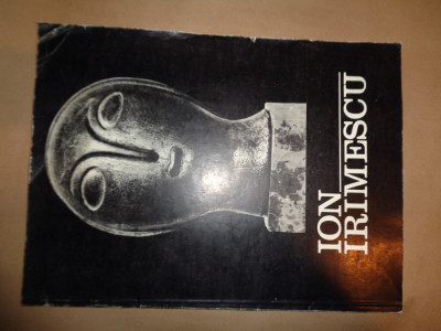 Ion Irimescu expozitie retrospectiva - sculptura si grafica an1973 foto