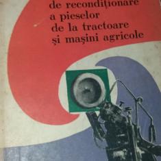 METODE NOI DE RECONDITIONARE A PIESELOR DE LA TRACTOARE SI MASINI AGRICOLE