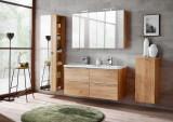 Set Mobilier pentru baie, 7 piese, Capri Oak XL