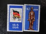 DDR-EXPOZITIA FILATELICA A TINERETULUI-SERIE COMPLETA-STAMPILATE