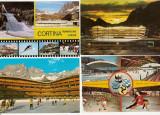 Lot cp hochei pe gheata Cortina Italia Olympia Innsbruck, Printata, Europa