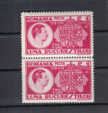 ROMANIA 1938   LP 125  LUNA BUCURESTILOR  PERECHE  MNH, Nestampilat