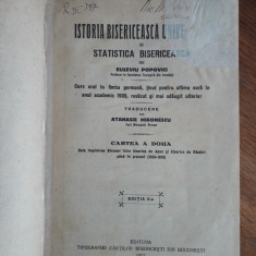 Istoria Bisericeasca Universala - Euseviu Popovici 1927 / C32P