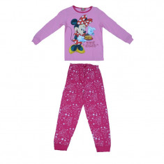 Pijama pentru fetite Minnie Mouse Disney DISM-GPYJL42646R, Roz foto