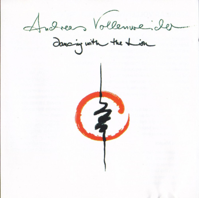 CD New Age: Andreas Vollenweider - Dancing With the Lion ( 1989 )