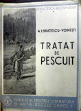 TRATAT DE PESCUIT de A.I. BRATESCU VOINESTI,1938