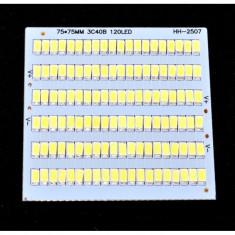 Placa cu Leduri SMD 75 x 75 x 120 Buc 12V / Putere 100W