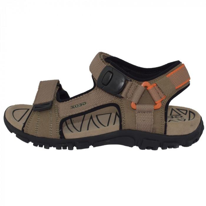Sandale dama, din piele naturala, marca Geox, U9224-C0704-03-06, bej 40