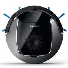 Aspirator robot Philips SmartPro FC8822/01, Autonomie 120 min (Negru/Gri)