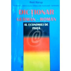 Dictionar german - roman al economiei de piata