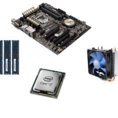 KIT Placa de baza (SHD) Asus Z97-A + Intel® Core i7-4770 + 16GB DDR3 1600Mhz, Pentru INTEL, LGA 1150, DDR 3