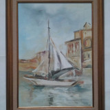 FRUMOASA MARINA SEMNATA ANGHEL G, Marine, Ulei, Realism