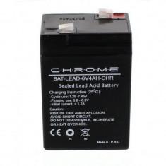 Acumulator plumb acid Chrome, 6V, 4Ah