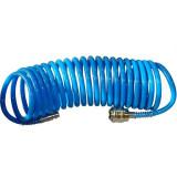 Cumpara ieftin Furtun aer comprimat spiralat Guede GUDE41400, 5 m, 5 mm