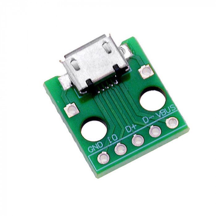 Conector Micro USB, PCB mama 5-Pini