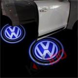 Proiectoare in portiera cu logo VW, VOLKSWAGEN - NOU! 5 Watt (set 2 buc)