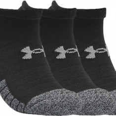 Șosete Under Armour HeatGear No Show Socks 3-Pack 1346755-001 pentru Unisex, Negru