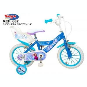 Bicicleta 14 Frozen