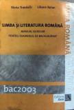 Limba si literatura romana Maria Trandafir, Liliana Balan